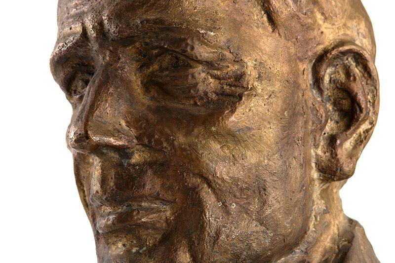 Portrét - Anton Jasusch, 1970, autor Vojtech Löffler